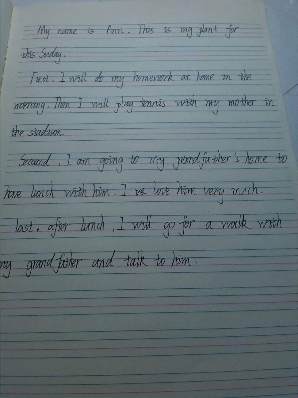 英语作文怎么写?图片