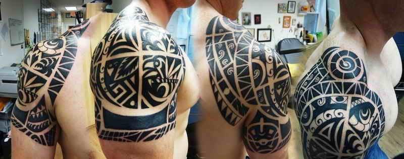纹身. 求玛雅图腾图片