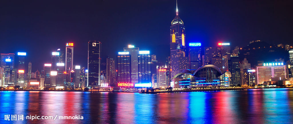 香港游维多利亚港照片