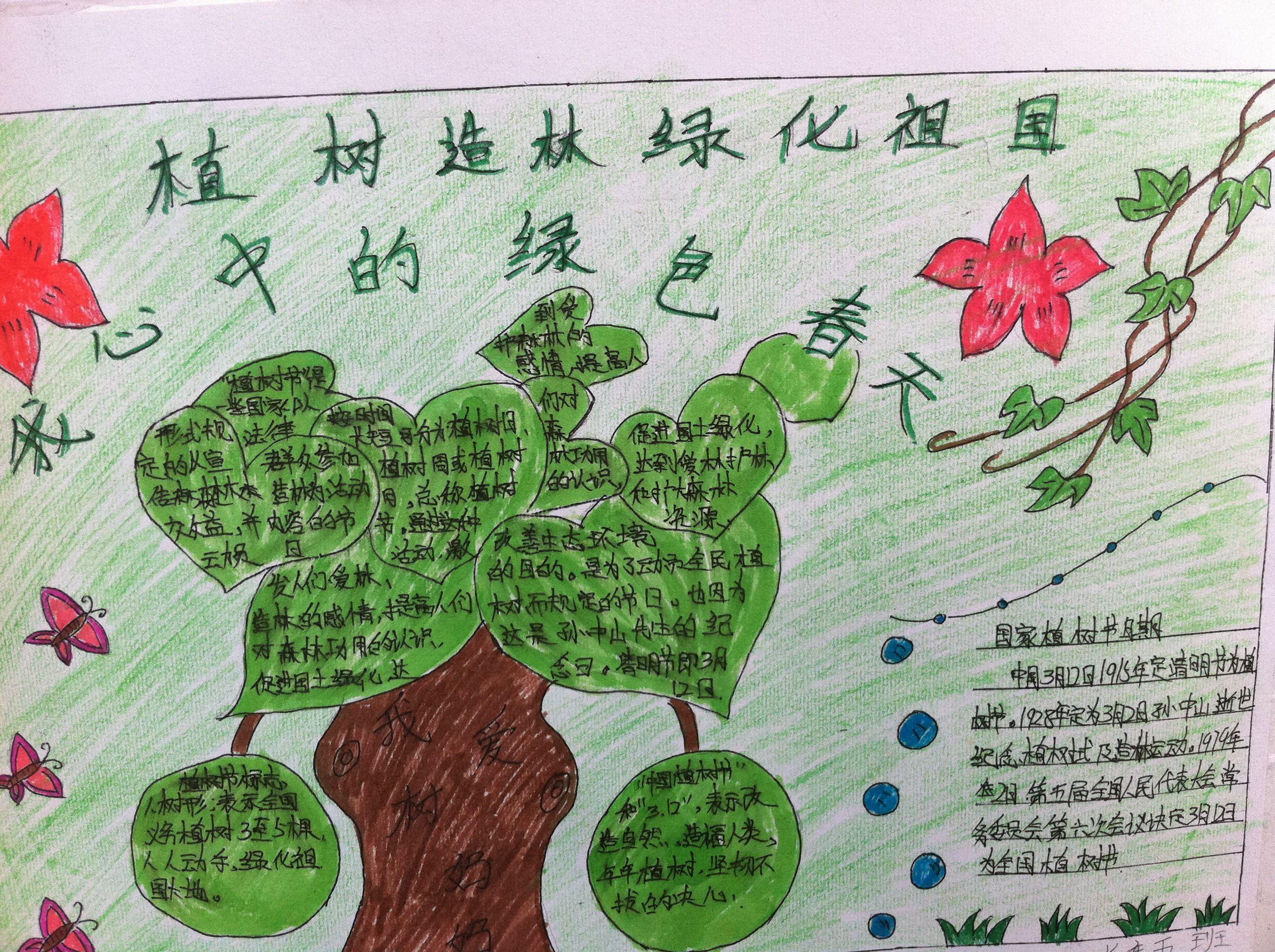 绿色春天手抄报一等奖的图片急用 谢谢