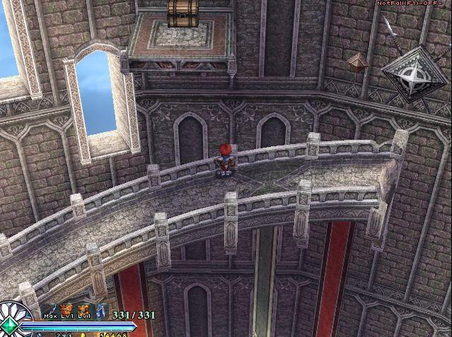 伊苏菲尔盖纳之誓约环形楼梯上的宝箱怎么拿 从上面掉下来...