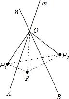 如图1 直线m