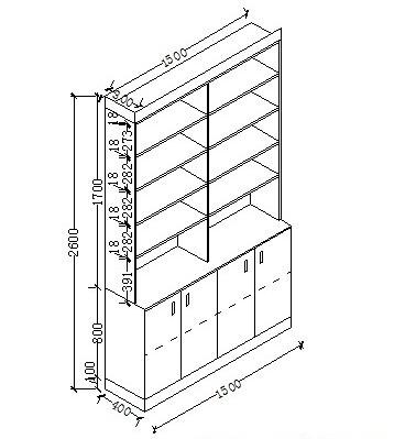 求书柜效果图 做的书柜 但是商家提供的设计图太丑了求图图片