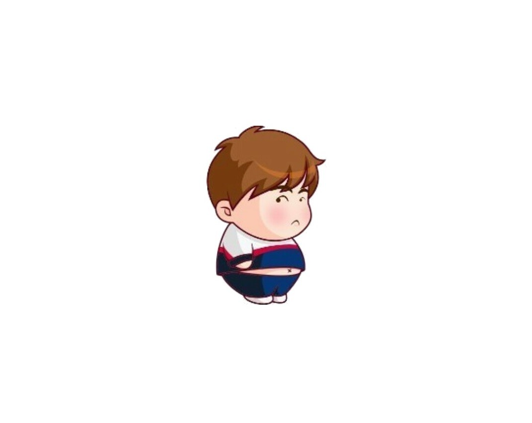 求微信里一个小男孩的表情包!如图所示!图片