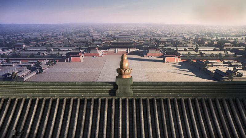 唐朝皇宫的特点?图片