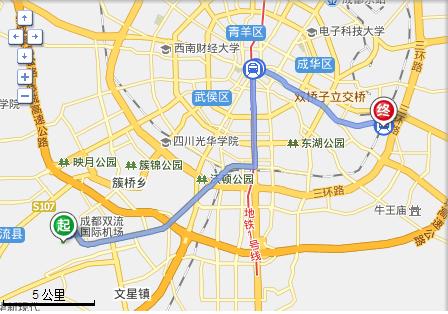 双流机场到成都东站