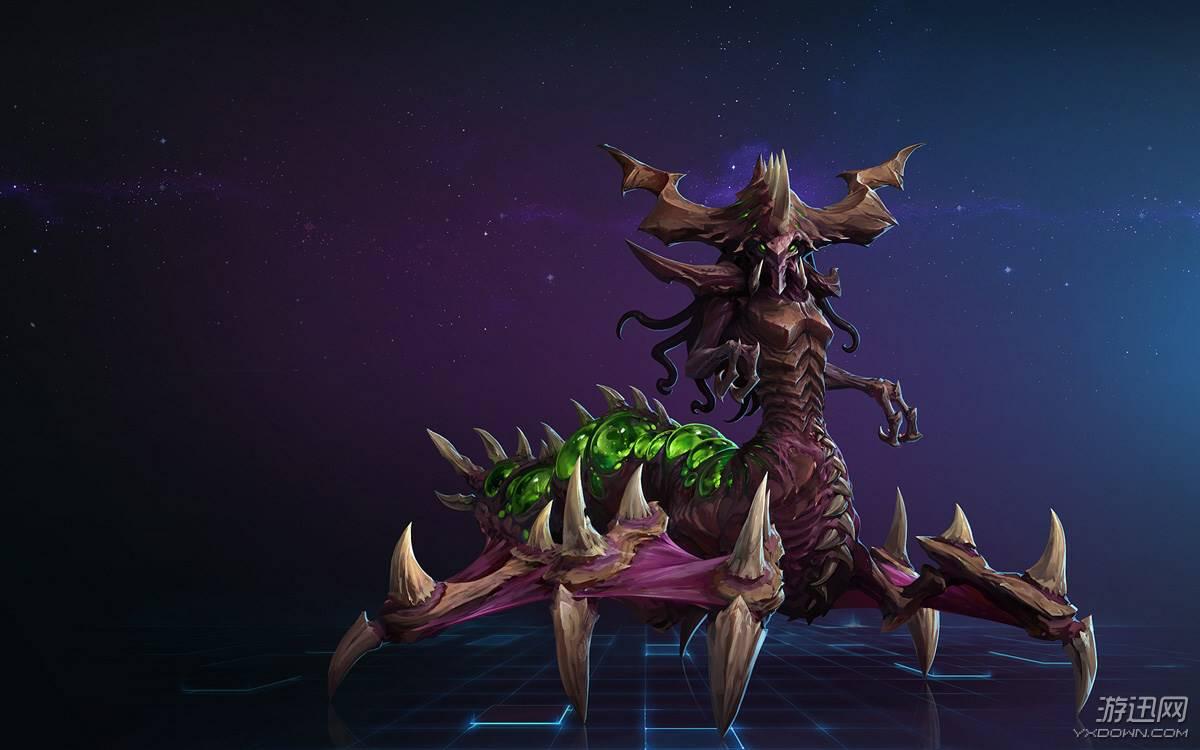 刀锋女王 伊兹莎  虫群之中高级个体(例如阿巴瑟 包括原生异虫高级图片