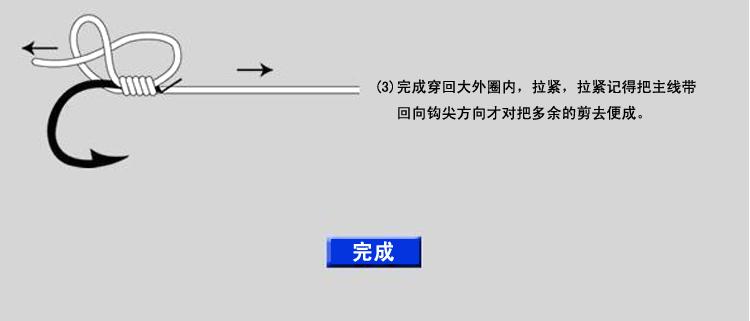 怎样绑鱼钩 绑钩器使用方法图解 一分钟超快速绑鱼钩