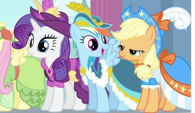 彩虹小马发展至今,已不仅仅是一部动画片,甚至不仅是一个同人圈,而是图片