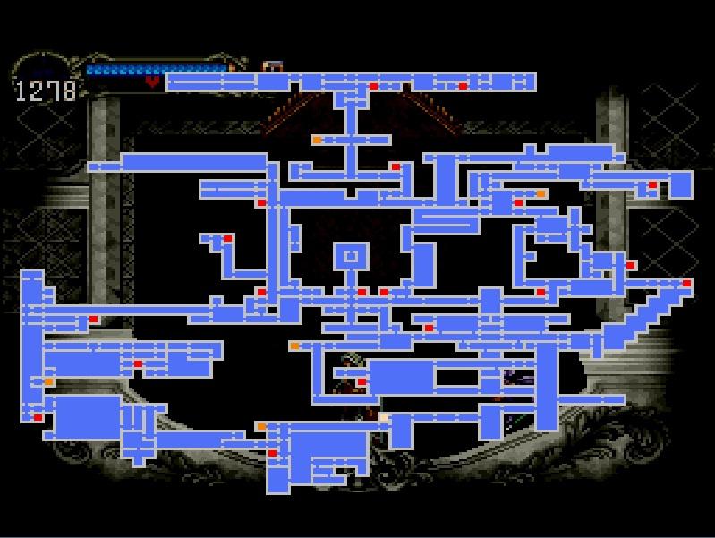 恶魔城:月下夜想曲 房间1888 地图开了200 4 百度知道