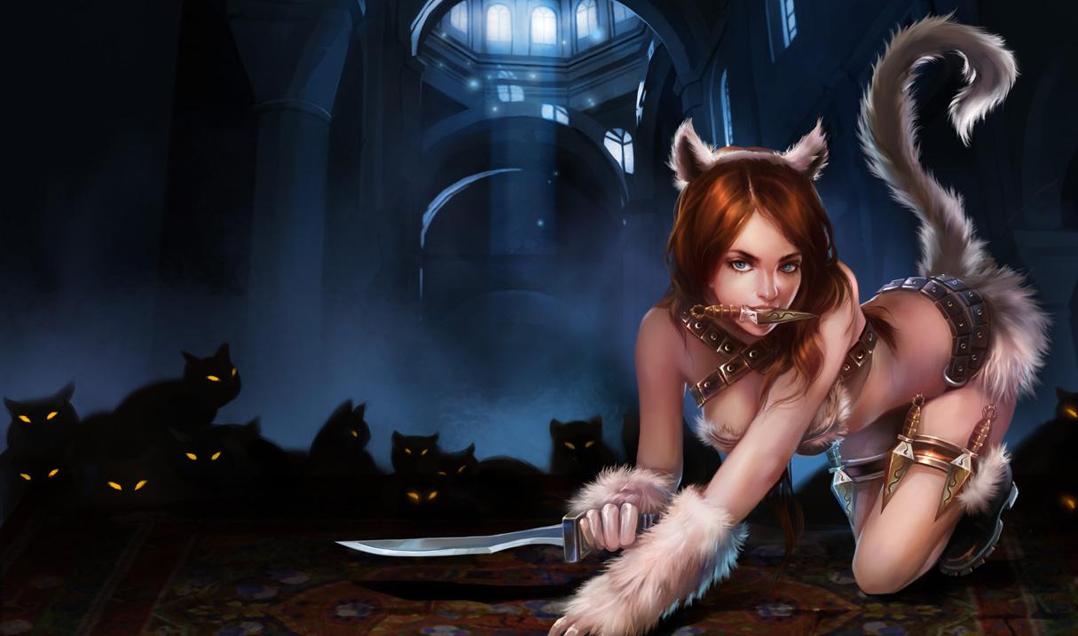 Katarina Cat Skin