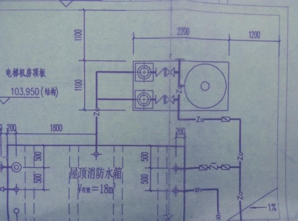 5 稳压泵吸水管应设置明杆闸阀,稳压泵出水管应设置消声止回阀和明杆图片