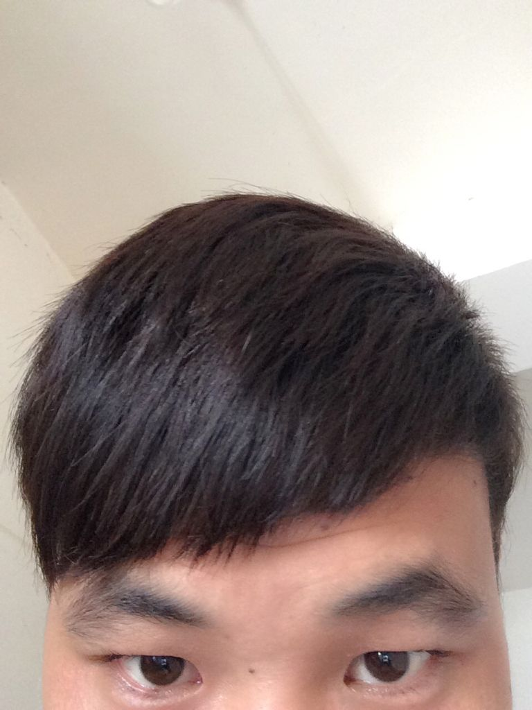 男 为什么我的头发拉直之后一个星期之后又变回原来的图片