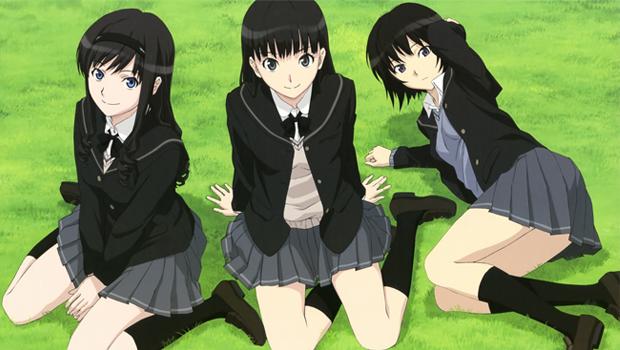 高中2年级生的主角橘纯一,憧憬着前辈森岛遥,并常常在远方默默注视她