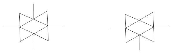 数字电路中,两个三角形叠在一起的电子符号是什么意思图片