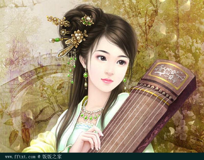 古代动漫手绘古代美女手绘古典美女手绘古代女子