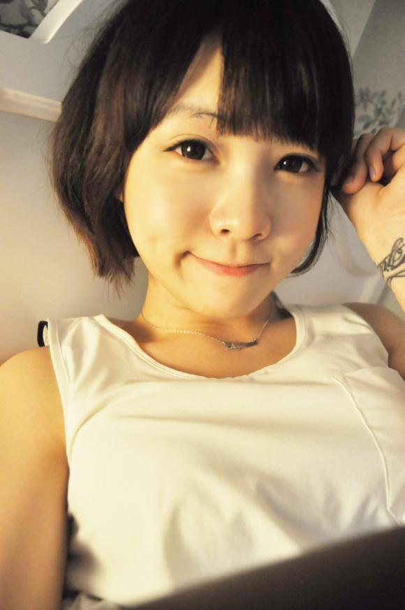 求韩国ulzzang短发女生的名字高清图片