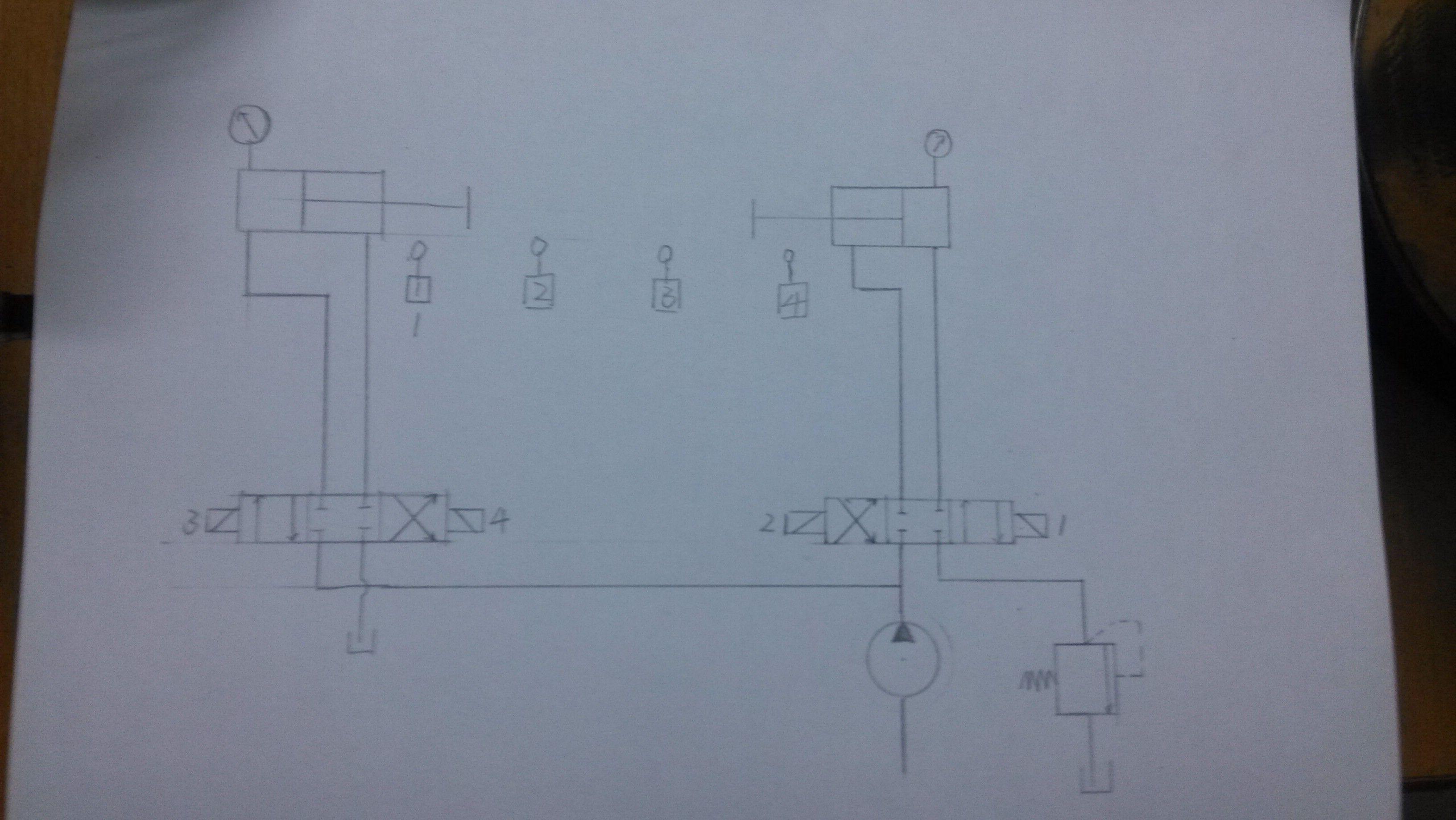 液压回路问题.图片