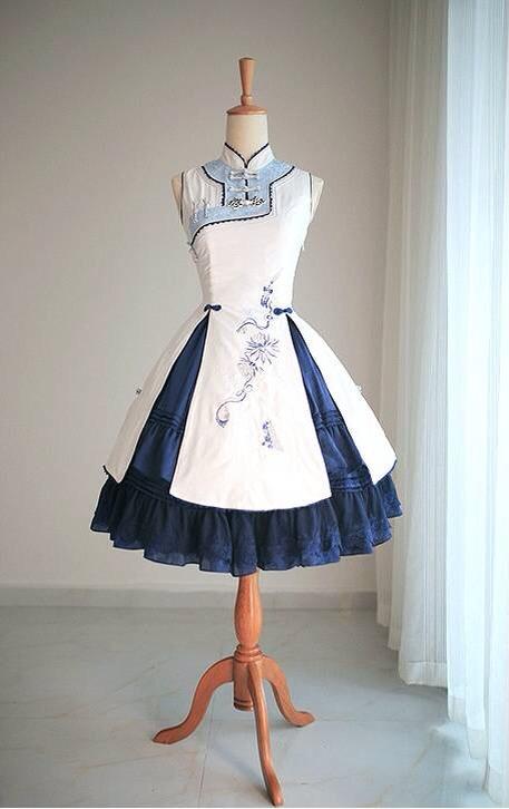 求这件lolita古风衣服的淘宝地址啊图片