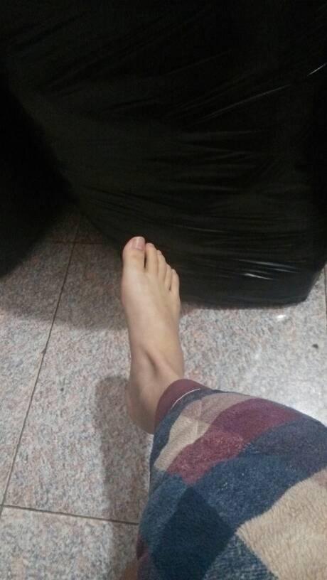 人脚还是男人脚?
