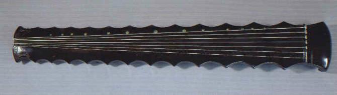 这款古琴是什么样式?图片