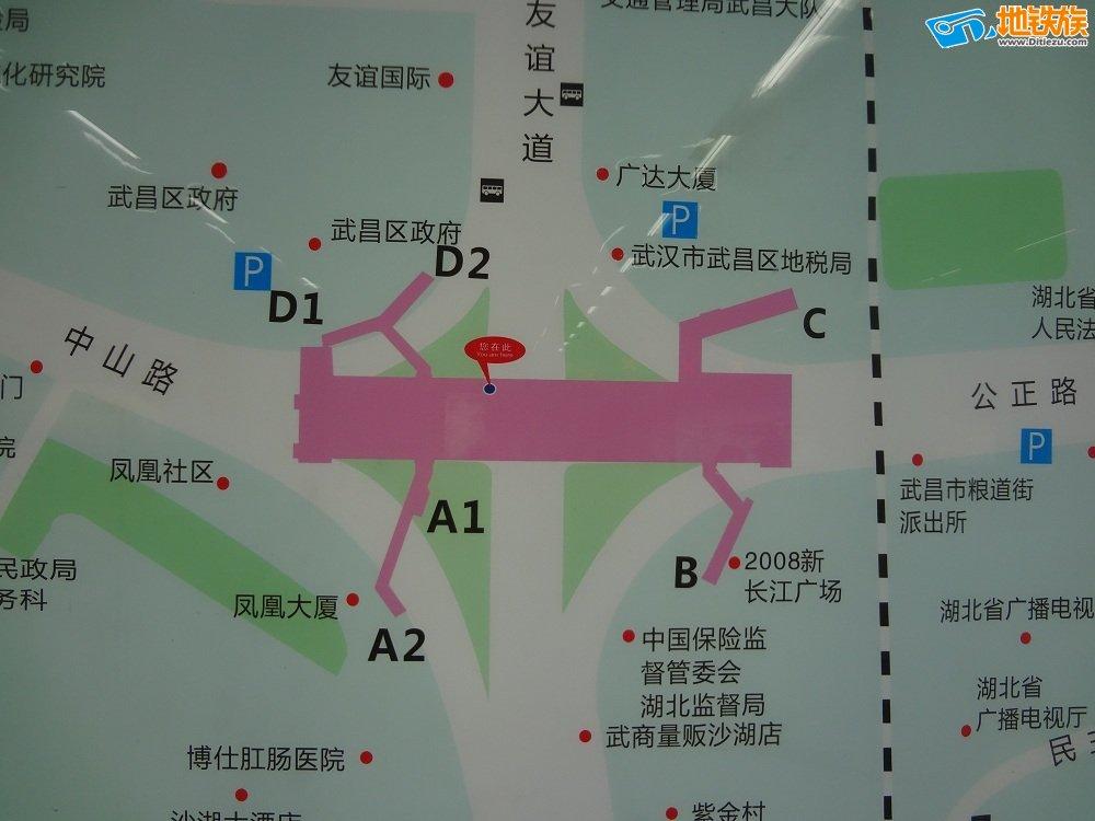 武昌火车站地铁 武昌火车站地铁4号线 武汉地铁线路图 武昌火车站地图片