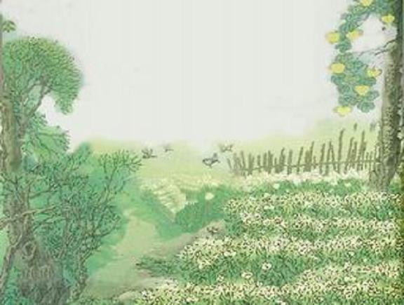 田园风景句子