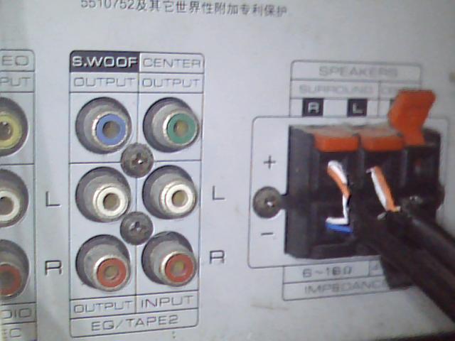 功放低音炮重来没响过 -------- 可能性很多:信号连接线(输入、高清图片