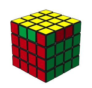 4阶魔方公式棱角兑换