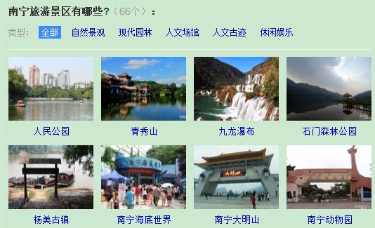 去南宁有哪些旅游景点