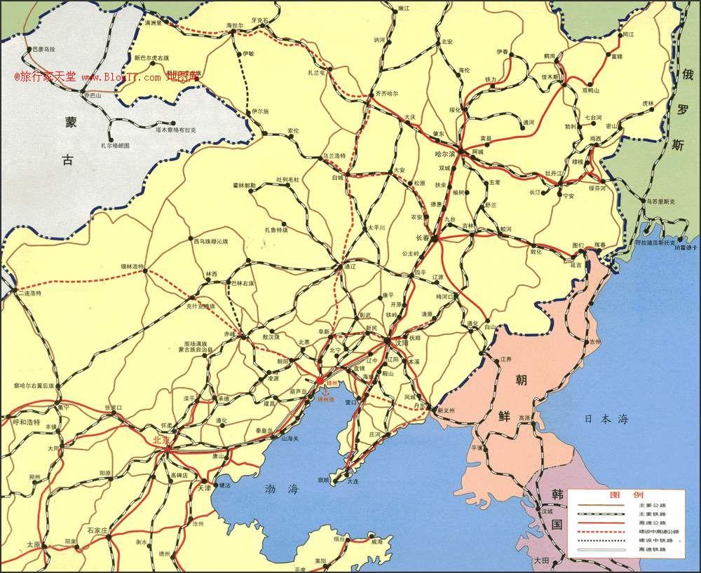 东北_东北三省的具体地图,具体到县界就可以.