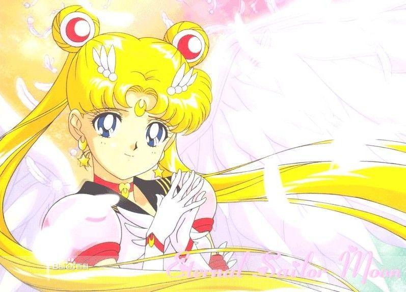 是著名的日本动漫《美少女战士》中的主人公