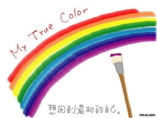 求彩虹的图片图片