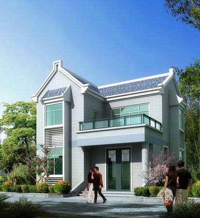 四间两层房屋建筑设计图纸,各位大神求助宽16长14是两兄弟房子,二楼各图片