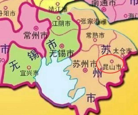 无锡主要旅游景点地图
