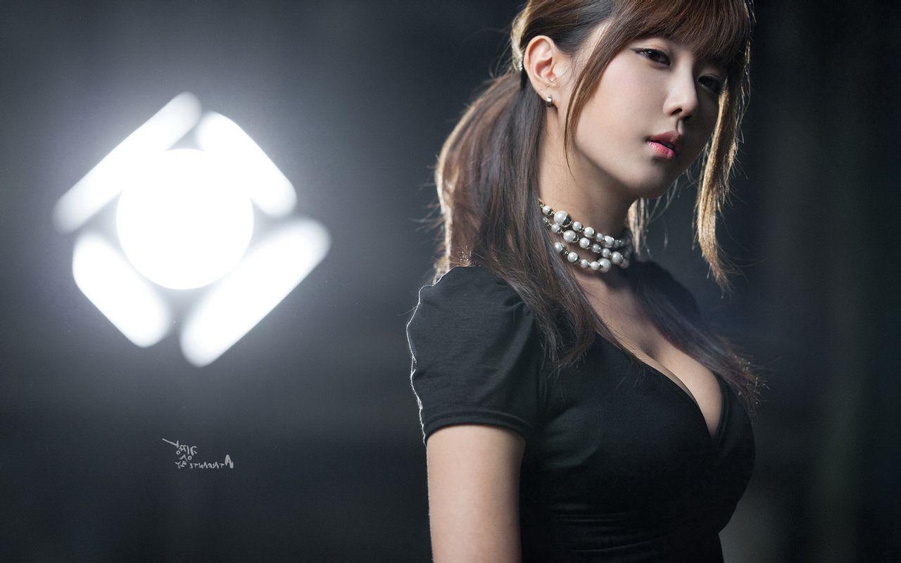 许允美外景长裙10张   韩文