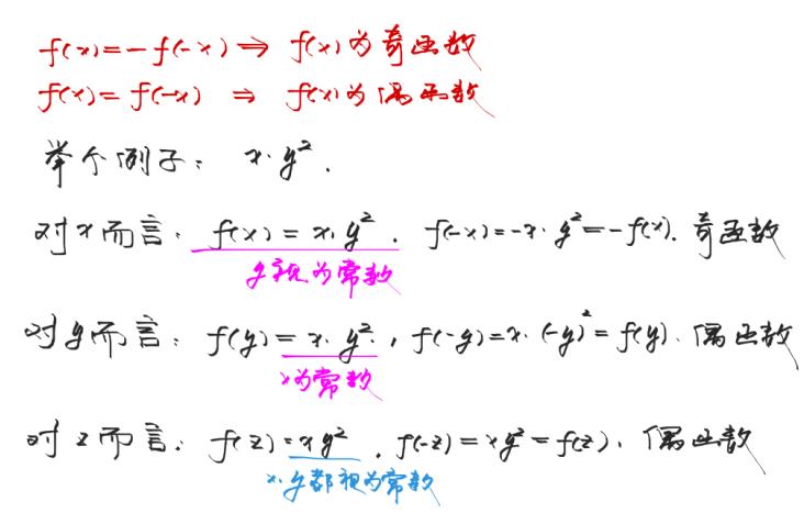 被积函数是偶函数