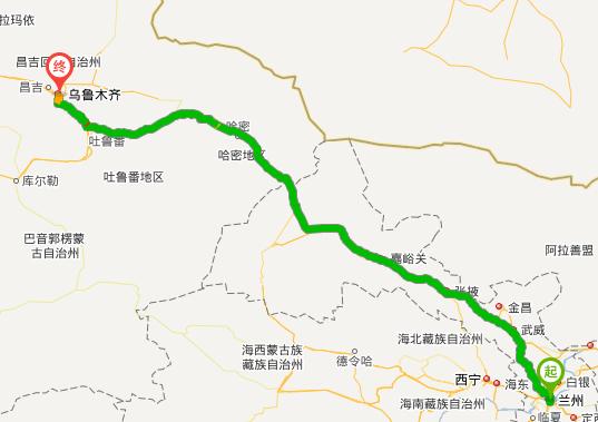 新疆到甘肃旅游攻略