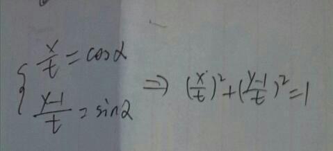 解直线的参数方程