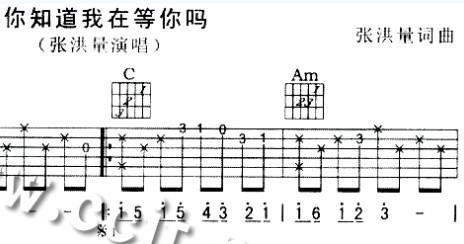 那种只有和弦的吉他谱怎么看 只写着很多和弦 下面是歌词 没有谱子图片