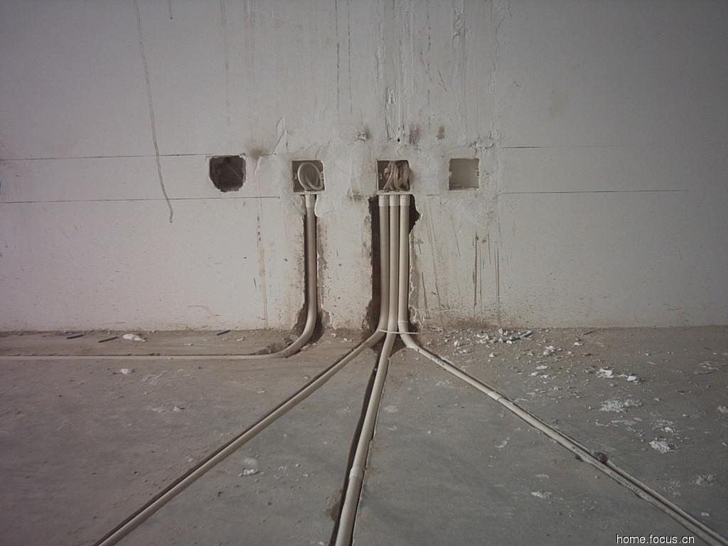 室内电路暗线布线技巧_室内暗线安装布线图《水电暗线装修布线图》