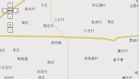 山东菏泽郓城县地图_