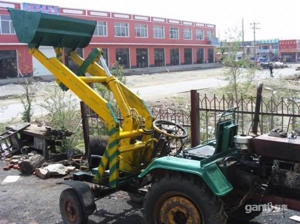 自己把农用拖拉机改成小铲车 他的液压系统需要多少钱图片