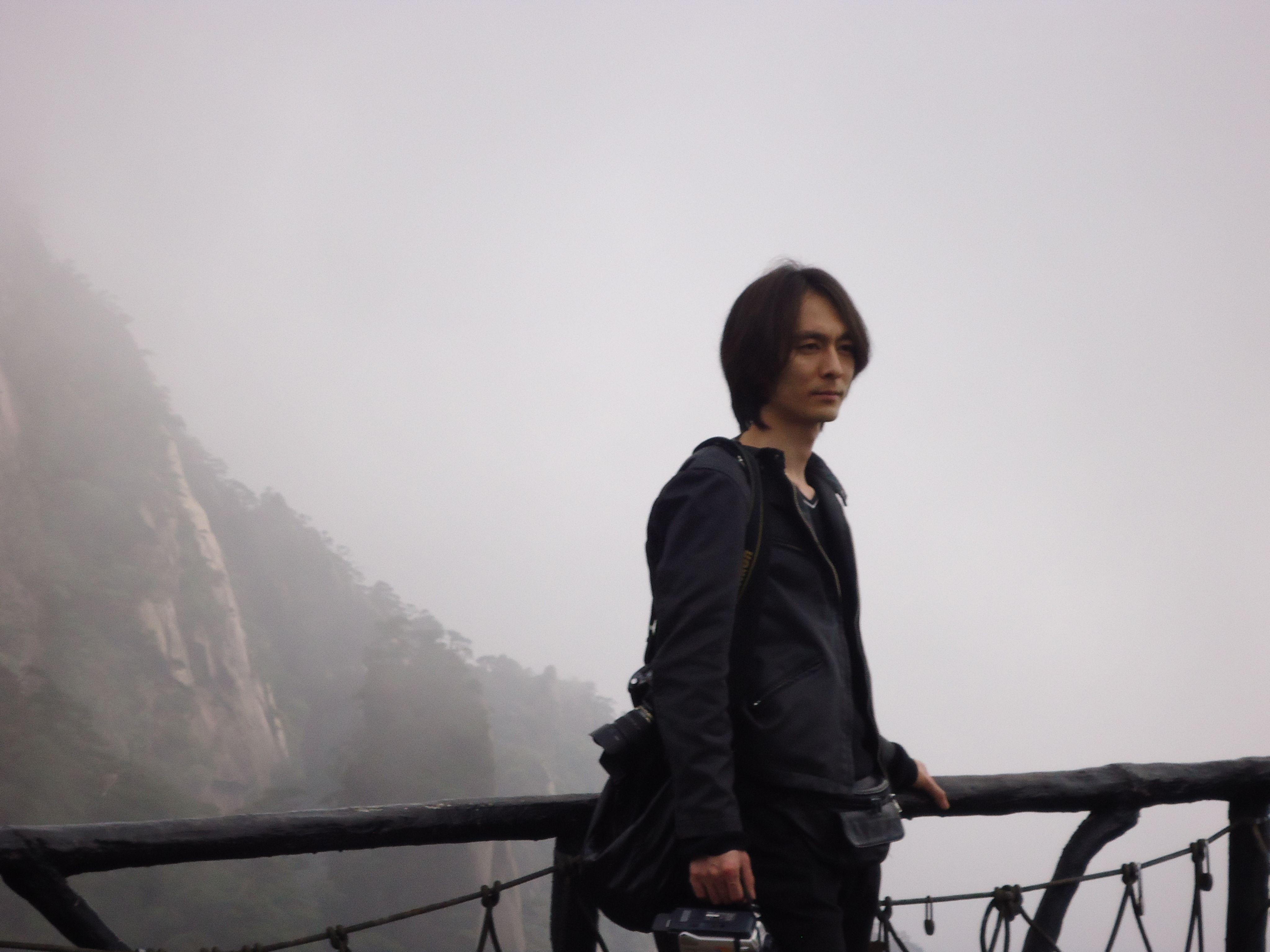 清明在三清山遇上的日本男生