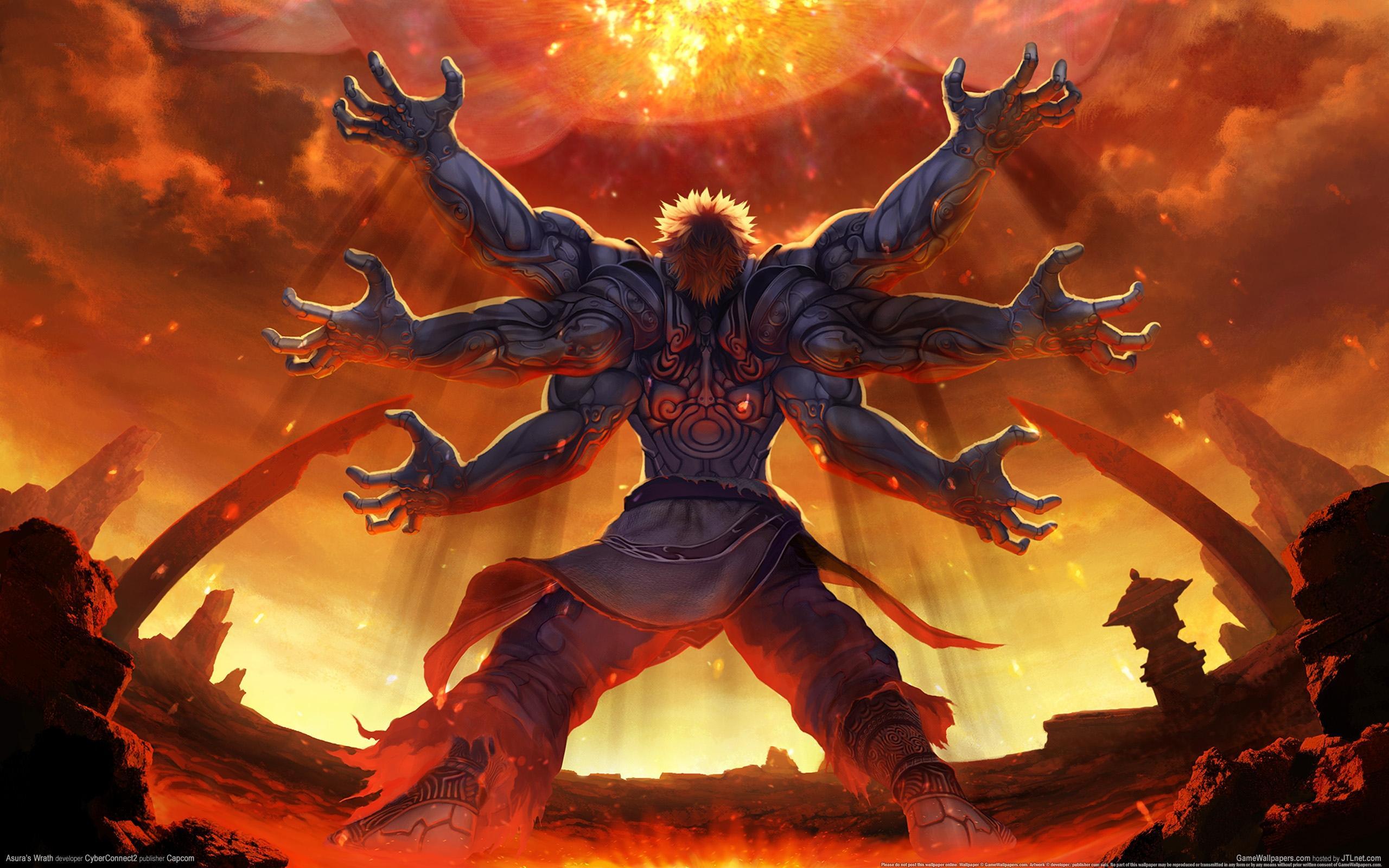 谁在电影,小说,游戏里看过三头六臂的人或怪物!或类似图片