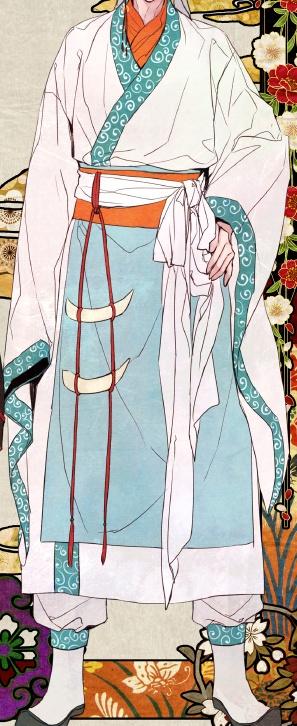 这种男子古代衣饰叫什么?图片