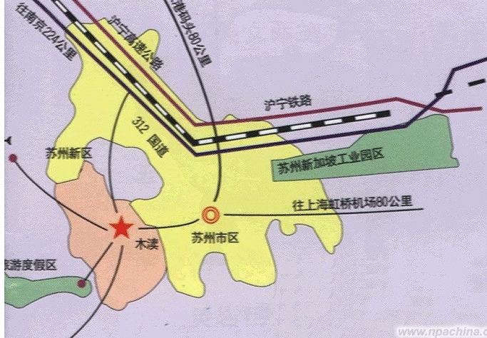 苏州各个区地图