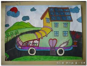 小学生六年级的科幻画,画点什么主题好?最好不是太空和机器人!图片