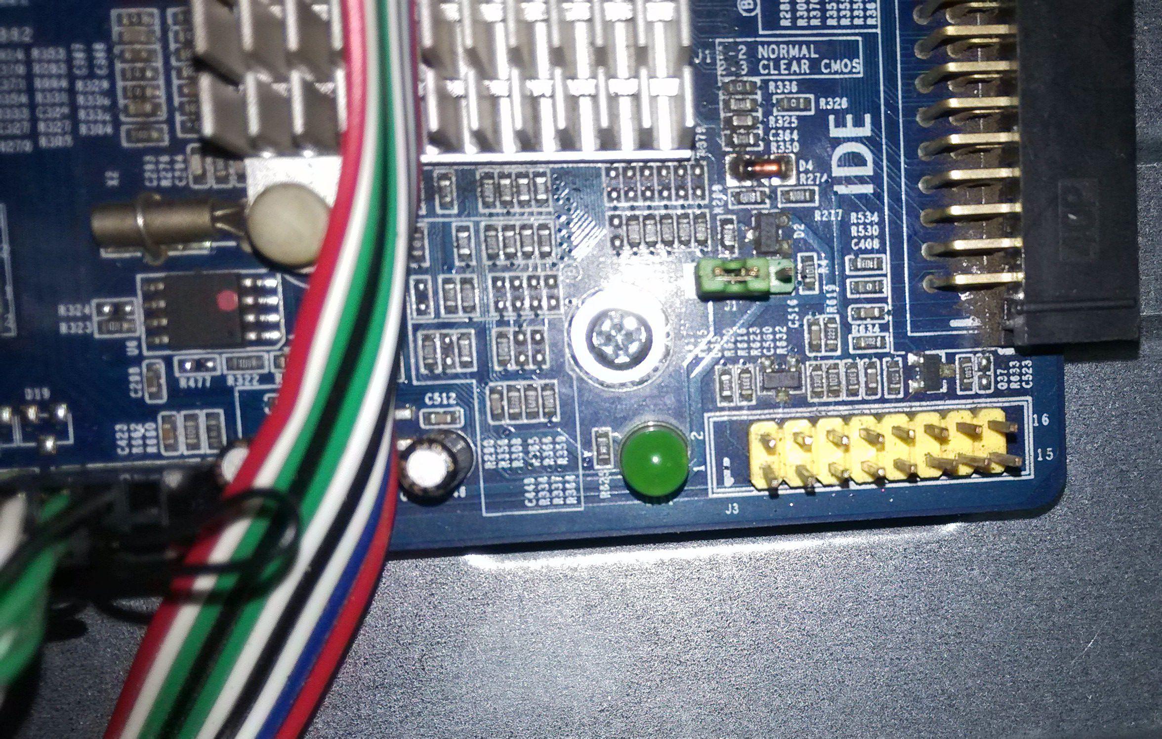 跪求 信步主板AM2 A7828 G 16针 机箱电源线接法图片