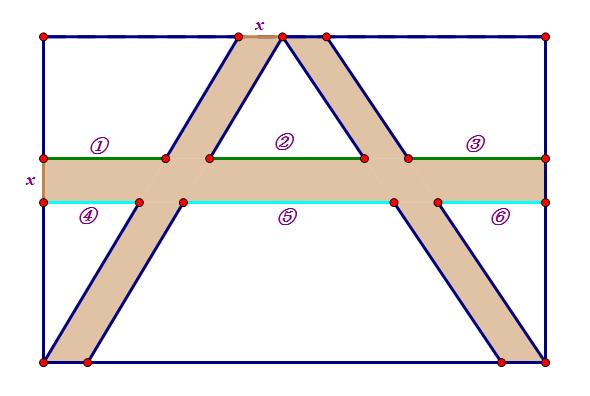 一块长方形苗圃的长_如图,有一块长为80米,宽为50米的长方形绿地。其中有三条笔直的 ...